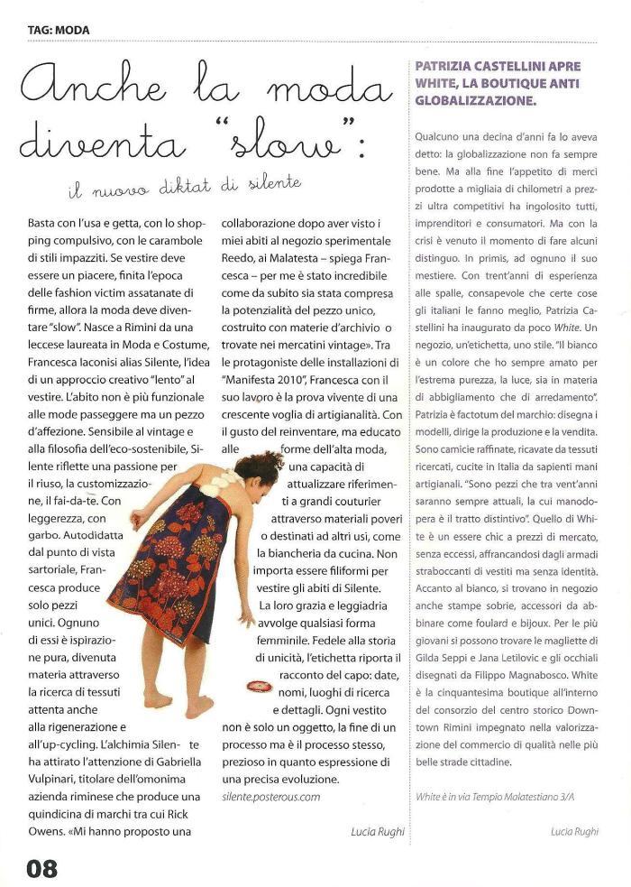 invisibilemag _ Francesca Iaconisi _ Silente _ slow fashion